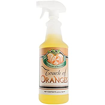 Wood Cleaner and Restorer for Hardwood Floor, Wood Furniture and Wood Cabinet Cleaner with Orange Oil (32 oz)