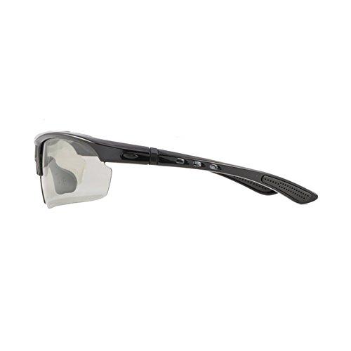 YQ Gafas Sol Unisex 2 Gafas Aire 2 Decoloración Prueba Color De Polarizadas Al A Viento QY Libre Deportes De Moda wIrFEqI