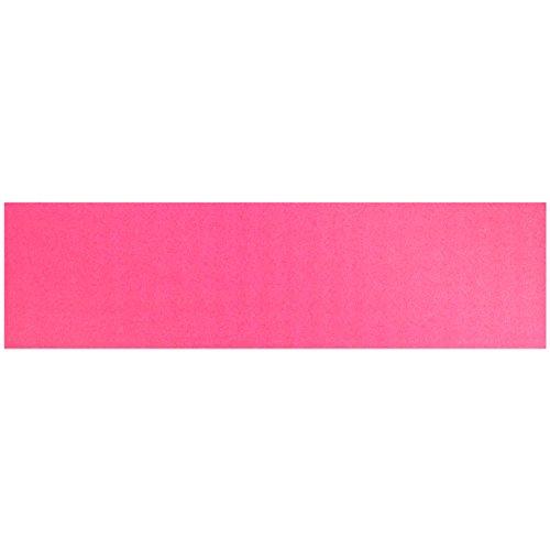 "Black Diamond Sheet of Skateboard Grip Tape 9"" x 33"" (Pink)"