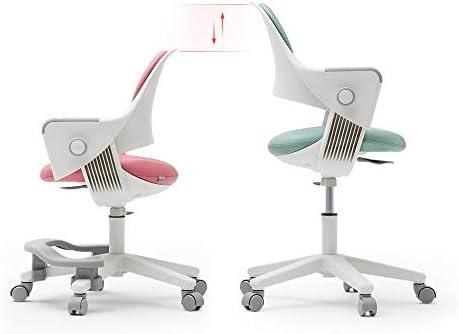 SIDIZ Ringo Kid Desk Chair (SNA509AV:Swivel Type): 4-Level Easy Adjustment For Perfect Support On Growing Child's Body, Sit-Brake Casters And Footrest For Better Sitting Posture (Lavender Blue)
