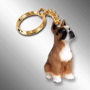 Set of 3 Conversation Concepts Boxer Key Chain