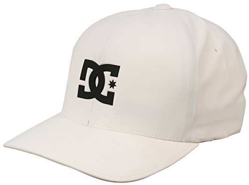 DC Apparel Men's Pop It Delta Trucker Hat, White, S/M