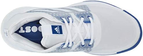 Adidas Crazyflight Cross Baskets pour femme, Blanc (Ftwr White/Ftwr White/Team Royal Blue), 37.5 EU