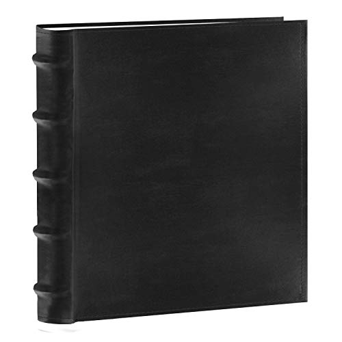 (Pioneer Photo Albums 200-Pocket European Bonded Leather Photo Album for 5 by 7-Inch Prints, Black )