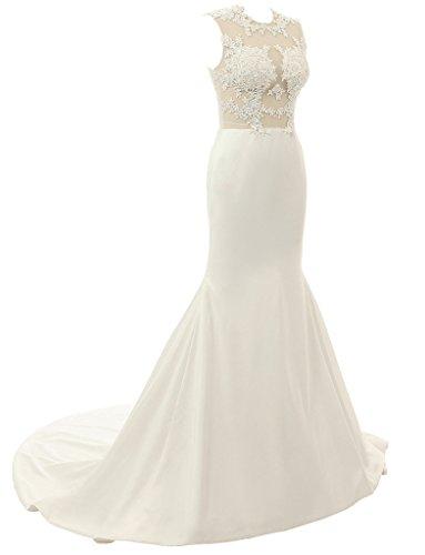 jydress de mujer vestidos de fiesta appliques satinado O-Neck y albornoz de sirena de fiesta formal vestido 2016para novia Azul