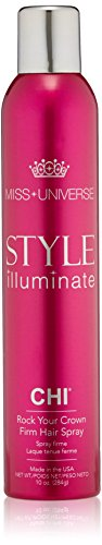 CHI Miss Universe Style Illuminate Rock Your Crown Firm Hair Spray, 10 oz.