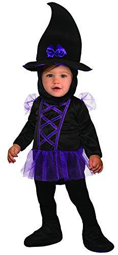 Forum Novelties Baby Girls Kiddie Witch, As Shown -