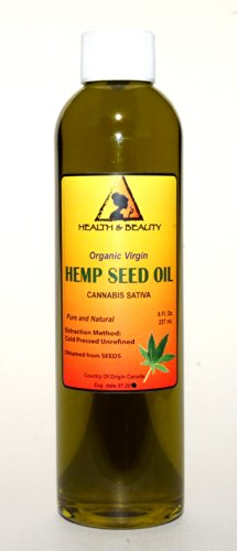 Hemp-Seed-Oil-Unrefined-Organic-Virgin-Carrier-Cold-Pressed-Pure-8-oz