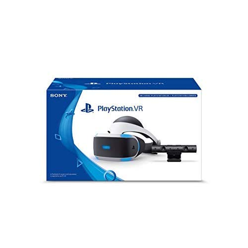 PlayStation VR Headset + Camera Bundle [Discontinued] (Renewed) by Sony