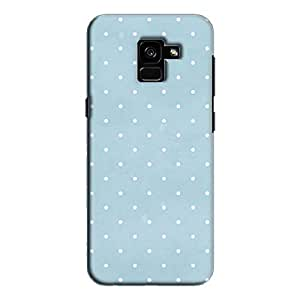 Cover It Up - Spotty Pastel Galaxy A7 2018Hard Case