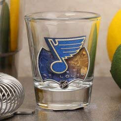 St. Louis Blues Standard Collector Shot Glass