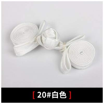 Maslin Traditional Chinese Close-fiting Baby Clothes Candy Style for Tang Costume dresing High-end Clothing Buttons for Clothing Sewing - (Color: 19)