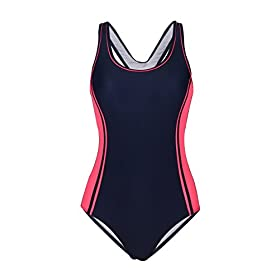 - 31wB0PE5zbL - Uhnice Women's One Piece Swimsuits Racing Training Sports Athletic Swimwear