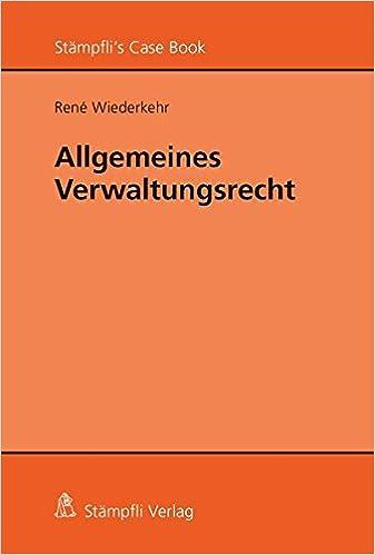 Book Allgemeines Verwaltungsrecht