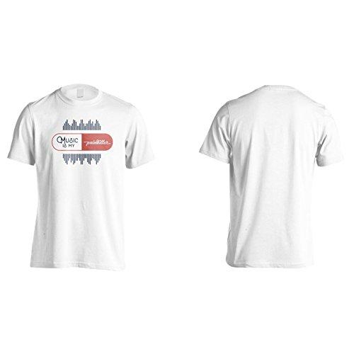 Musik Ist Mein Schmerzmittel Herren T-Shirt n434m