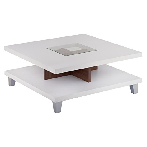 ioHOMES Lendon Square Coffee Table, White ()
