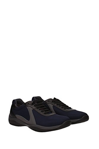 Prada Sneakers Mænd - Materiale (4e3075reteplume) Eu Blå RnQ6W