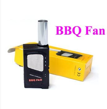 Vktech Electricity BBQ Fan Air Blower Ventilator Bellows for Barbecue Camping