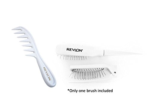 Wig Lift Comb and Folding Wig Brush by Revlon Hair Products Revlon Hair Wigs
