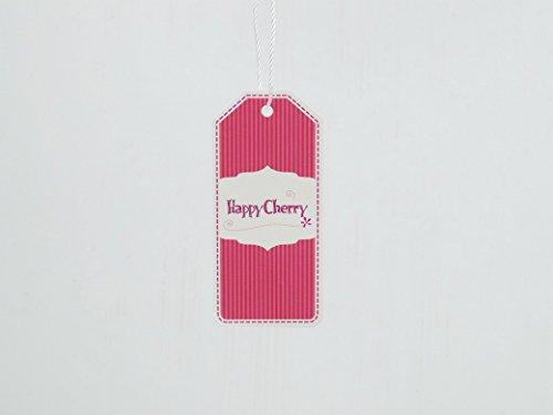 Happy Cherry Zapatos de Primeros Pasos Princesas Zapatillas de Piel PU con Borlas Lazo Suave Baby Shoes para 3 - 18 Meses Bebés Niños Niñas Rojo*Oro
