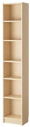 Ikea Elegante diseño Ajustable estantes Billy – Estantería ...
