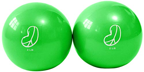 Bean Products Soft Weighted Balls - 2lbs Lime (2 Pack)