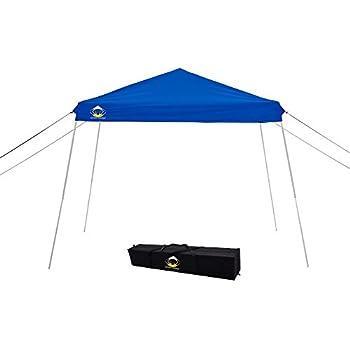 Slant Leg Pop Up Instant Folding Canopy with Carry  sc 1 st  Amazon.com & Amazon.com : EMBARK Tan 10x10 Str. Leg Canopy : Garden u0026 Outdoor