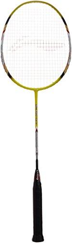 Li-Ning 70 II G-Tek Carbon Fiber Badminton Racquet, Size S2 (Pink/Yellow)
