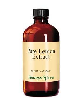 lemon extract 8 oz - 5