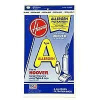 hoover-4010100a-type-a-allergen-filtration-vacuum-bags-3-bags-per-pack-pack-of-3-total-9-bags