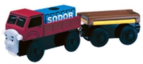 amazon com thomas the tank engine friends wooden railway lorry