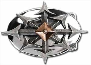 RAVENHEAD Alchemy Gothic OSSA hebilla de cinturón B37