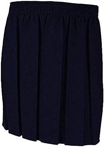 Bahob® Falda escolar para niñas y mujeres, con pliegues, uniforme ...