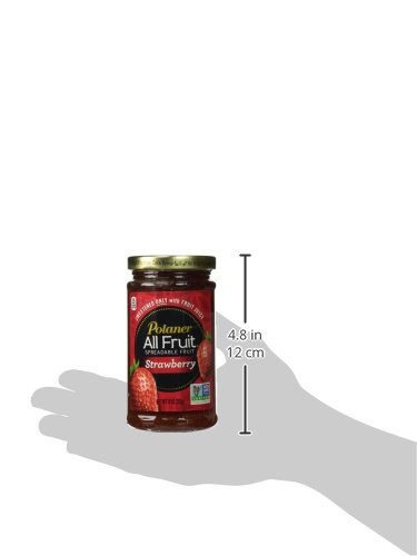 Polaner 100% All Natural Strawberry Fruit Spread 10 oz (Pack of 12) by Polaner All Fruit (Image #5)