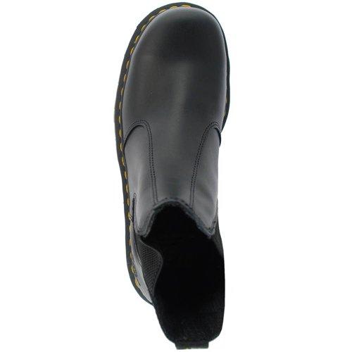 Dr. martens :  2028 cHELSEA 10290001 bLACK goodyear en cuir véritable-sB chaussures eUR39/uK6 en acier (noir/noir)