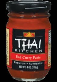 Thai Kitchen 4oz Red Curry Paste (Pack of 2)