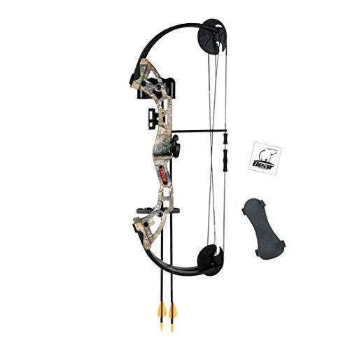 Bear Archery Warrior Youth Bow (Compound Arrows Archery)