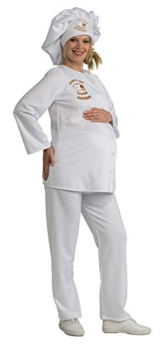 Mommy to Be Baker Adult Maternity Halloween Costume Size Standard