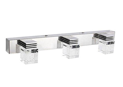 Led Bathroom Vanity Light Fixtures: Lightess LED Bathroom Vanity Mirror Light Fixtures Crystal