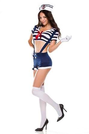 Amour- Japanese School Girl Sailor Uniform Cosplay Costume