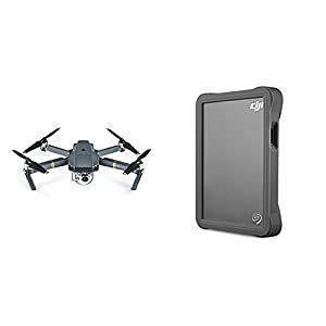 DJI Mavic Pro + Seagate DJI Fly Portable Hard Drive with Micro SD slot bundle