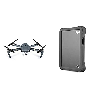 DJI Mavic Pro + Seagate DJI Fly Portable Hard Drive with Micro SD slot bundle