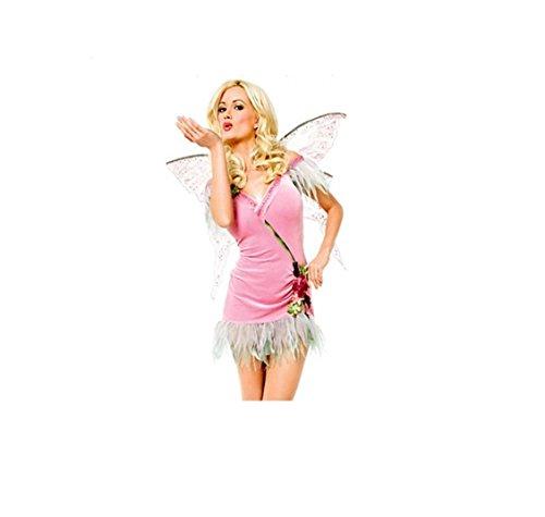 Damen Linie A Kleid GGTBOUTIQUE rosa rose wAOPn4xq