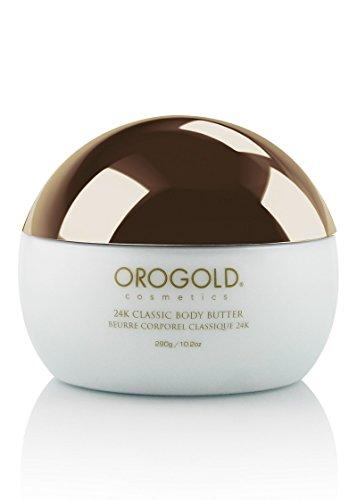 (White Gold 24K Golden Body Butter from OROGOLD Cosmetics, 290 g / 10.2 oz.)