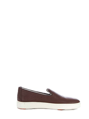 on MBCN20439BA6CFOSS40 Marrone Slip SANTONI Uomo qE8p8H