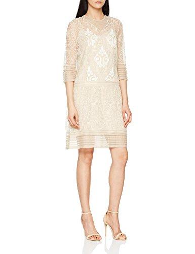 Beige Piedra 002 Kleid Intropia Damen 7zUxqZ