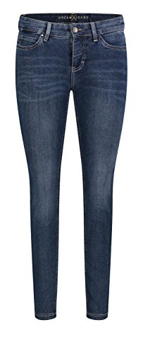 Mac para Mujer Vaqueros Jeans D626 Liso AHqrxAwBv