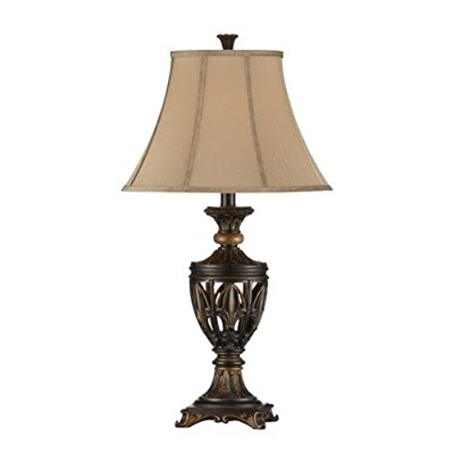 Fleur de lis table lamp amazon aloadofball Choice Image