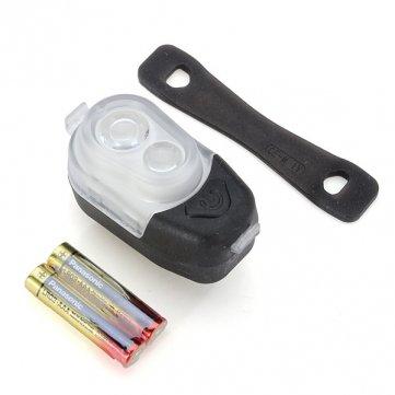 Haute Qualité AKSLEN 2 LED 3 Mode avant Lumière de vélos Bike torche - Black