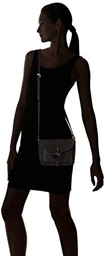 Petite Mendigote Sanfuego - Bolso bandolera Mujer Noir (Noir (Black))
